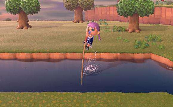 动物森友会怎么跳过河