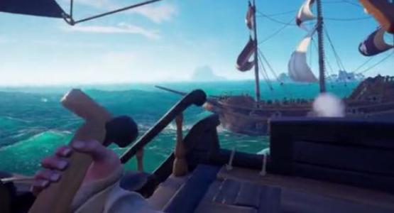 盗贼之海手游船卡住了怎么办?方法如下