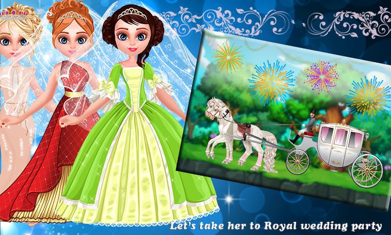 公主新娘装扮女孩游戏