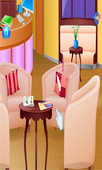 酒店清洁女孩游戏