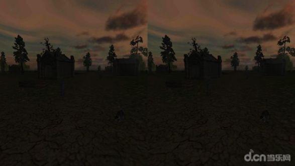 VR Graveyard Cardboard