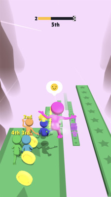 空中速降赛跑3D