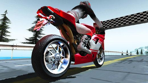 极限摩托骑行