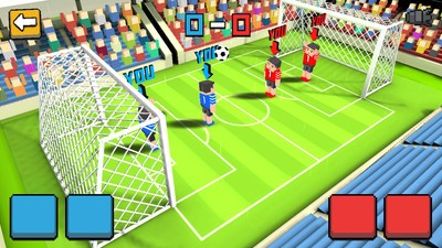 方块足球赛3D
