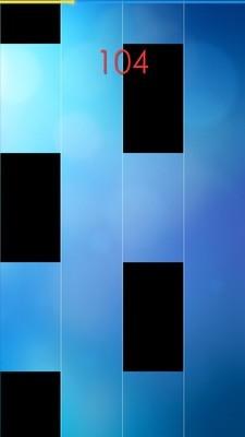 钢琴与方块