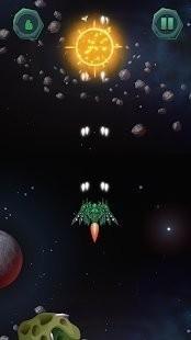 飞机战斗小行星逃逸