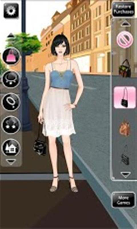美女时尚换装