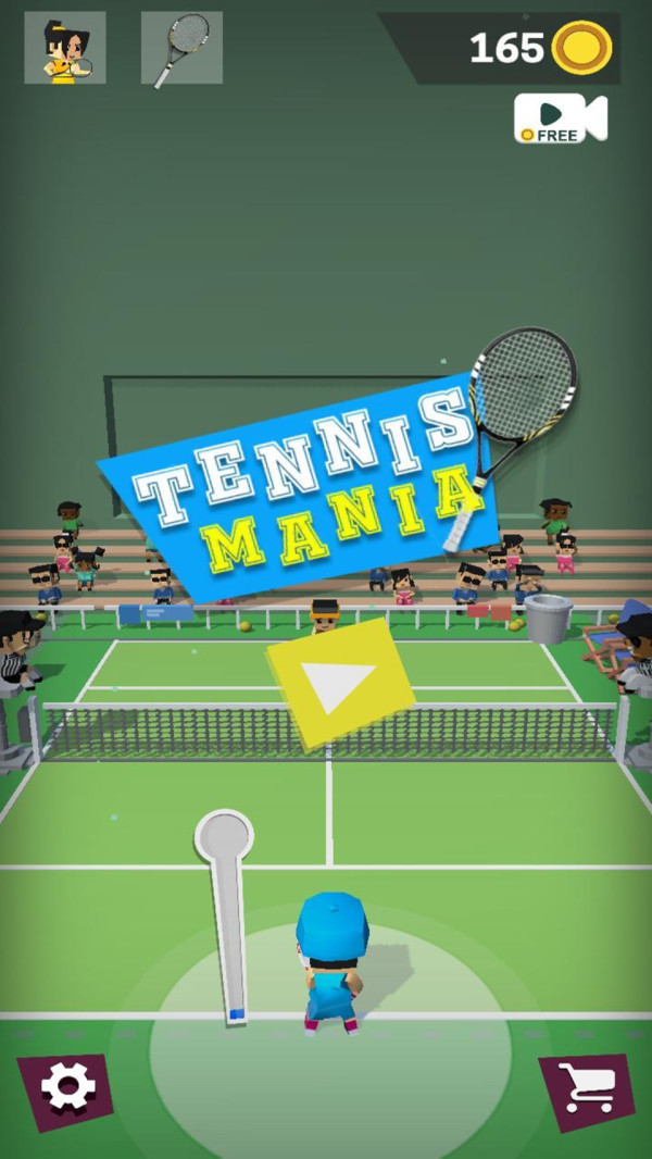像素狂热网球