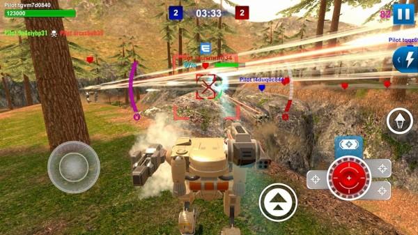 机械战斗游戏