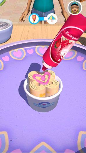 摆个地摊炒冰淇淋