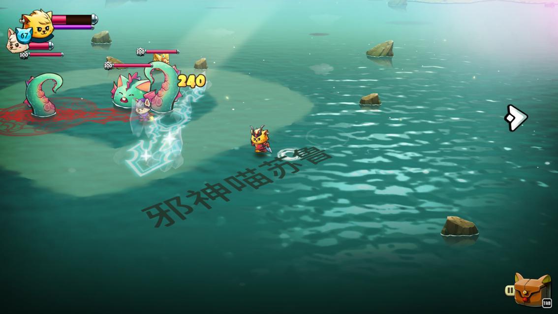 猫咪斗恶龙2评测:独立游戏中的日式RPG典范