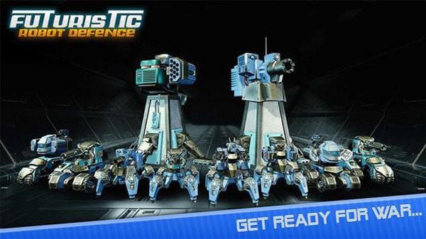 机器人勇士塔防