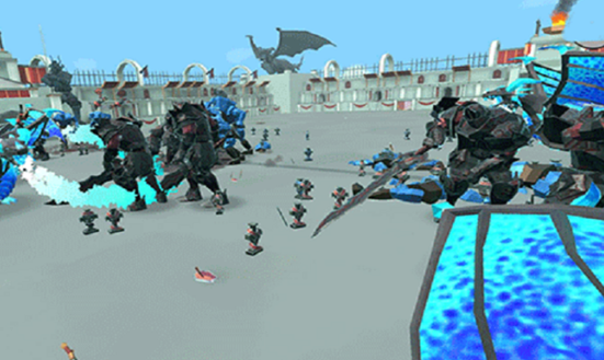 策略大型单机游戏超级步兵